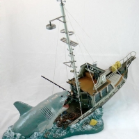 JAWS - Orca (Quint's final moments) Diorama