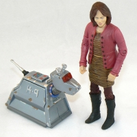 """Sarah Jane Smith and K-9 (rusty version) from """"School Reunion"""" (2006)"""