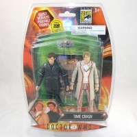 """Time Crash"" 10th Doctor and 5th Doctor - ComicCon 2008 Exclusive Figure Set"