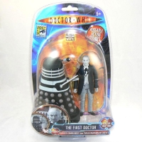 The 1st Doctor & Dalek (Black & White Version) - ComicCon 2009 Exclusive Figure Set