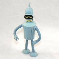 Bender Bending Rodriguez (with sleepy eyes)