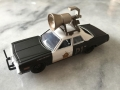 Green Light - Blues Brothers Bluesmobile with loudspeaker