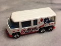 Vintage Hot Wheels 1976 Captain America Van (with viewport in rear)