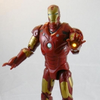 "Iron Man Mark III Sounds & Lights 12"" Figure"