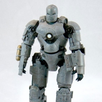 Iron Man Mark I Figure (repainted by me)