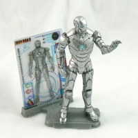 "Iron Man Mk II Armor from IRON MAN 2 Movie 4"" Figure Line"