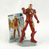 "Iron Man Mk IV Armor from IRON MAN 2 Movie 4"" Figure Line"