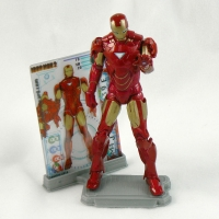 "Iron Man Mk VI Armor from IRON MAN 2 Movie 4"" Figure Line"