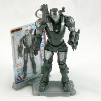 "War Machine Armor from IRON MAN 2 Movie 4"" Figure Line"