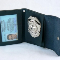 Chief Martin Brody's Badge and Wallet