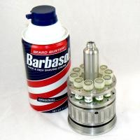 Dennis Nedry's fake Barbasol Can for smuggling DNA (open)