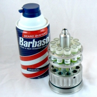 Dennis Nedry's fake Barbasol Can for smuggling DNA (open - pops up)