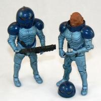"Sontaran Trooper and Sontaran Commander Skorr from ""The Sontaran Stratagem"" and ""The Poison Sky"" (2008)"