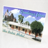 Bates Motel Postcard (front) from PSYCHO