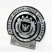 Gotham City Police Badge from THE DARK KNIGHT