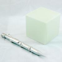 """Gary Seven"" Servo (Pen) and Computer Interface (cube)"