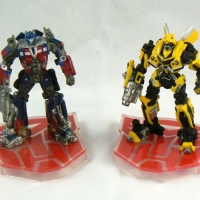 Mini Optimus Prime and Bumblebee (live action movie)