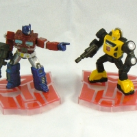 Mini Optimus Prime and Bumblebee (classic)