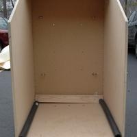 Inside the box.